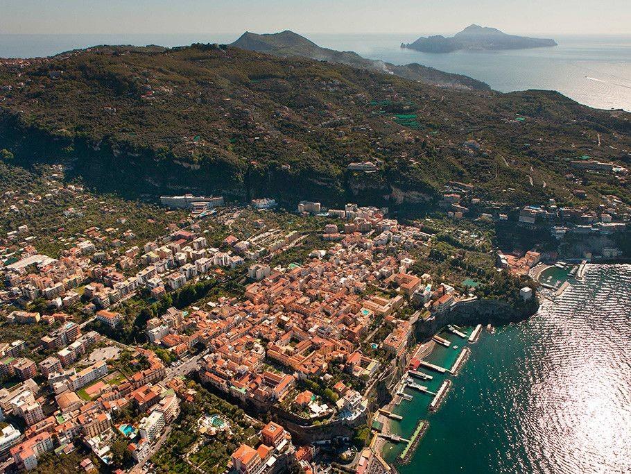 La penisola Sorrentina