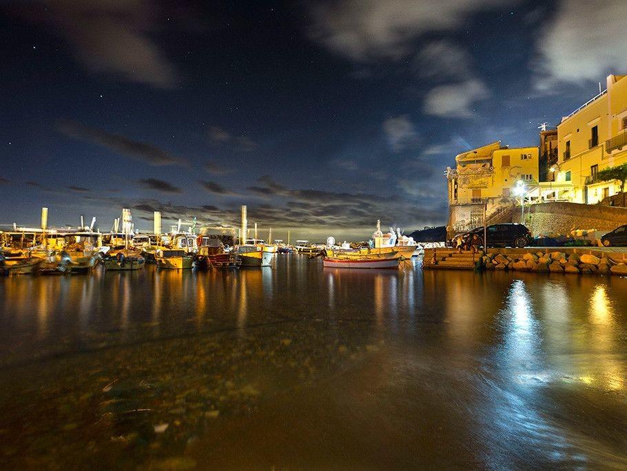 Marina Grande Sorrento di notte